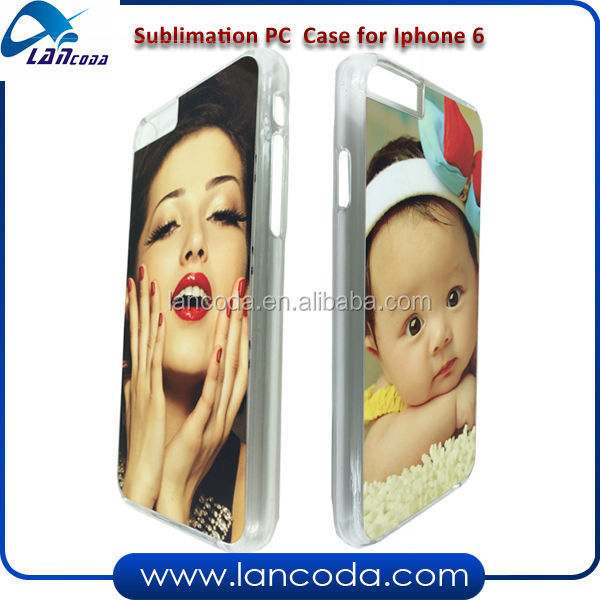 NEW sublimation case for iphone6 plastic mobile phone cover made in china