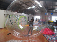 From China The newest crystal snow globe water ball for fun inflatable water slide repair kit