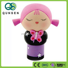 new products wooden japanese doll craft