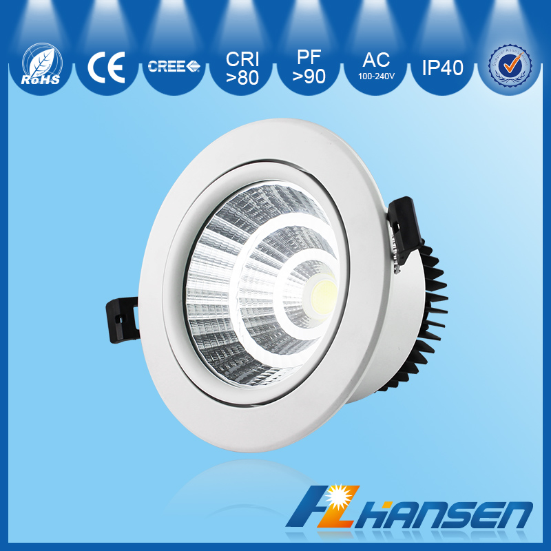 20w led down light with emergency high bright bar light - Downlight led 20w ...