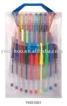 30pcs PVC bag packing Glitter Scent Gel pen