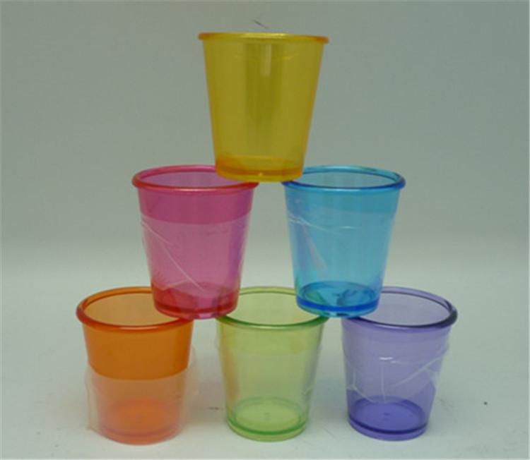 Venta al por mayor baratos personalizado de pl stico - Vasos de colores ...