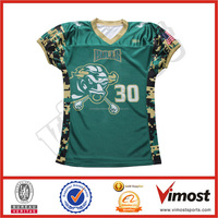 full sublimation college american football shirts football uniforms with oem service