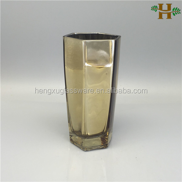 different types decorative glass vases buy different