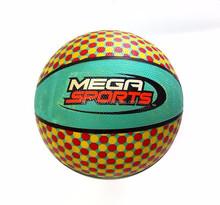 Spot color logo rubber basketball