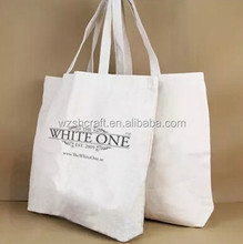 Promotional Customised Cotton Canvas Shopping Tote Bag-- Natural Cotton