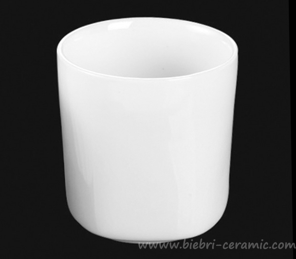 Pure White Customized Logo Decal Artwork Printed Porcelain