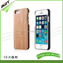 Newest coming mobile phone case cover pc+bamboo cell phone back case for iphone 6