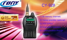 CY-928 with FM radio and vox built-in dual radio band uhf vhf