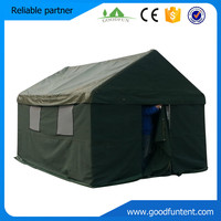 Pole supported style Canvas Military tent canvas unique camping tents