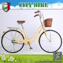 2015 Fashion style 26 size lady bike, city bike, cycling, student bike for lady