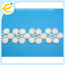 Free sample good designed spring color elastic lace