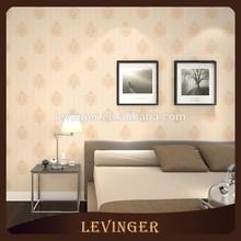 Levinger Muestra Gratis Vinilo Decorativo Floral anaranjado del papel pintado