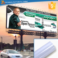 EN 12899-1 Certificated Reflective Sheeting Advertising Printing Material For Road Sign