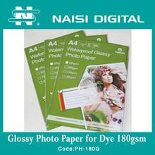 high glossy inkjet photo printing paper types