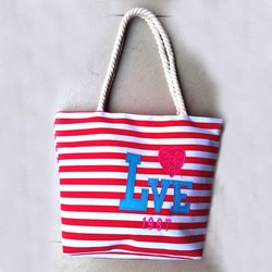 wholesale china manufacturer cotton canvas tote beach bag