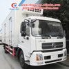4X2 10ton thermo king refrigerator freezer truck,refrigerator van truck for meat and fish