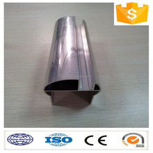 mirror polishing aluminium profile for making door and windows/decoration/industry