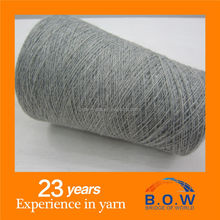 acrylic blend yarn wool acrylic blended tube knitting yarn new product