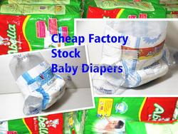 New Fresh Factory Bulk Stock Cheap Baby Diapers