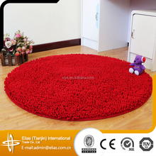 2015 New Design Red Round Shoe Cleaning Entrance Door Mat
