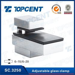 SC.3250 Zinc alloy stainless steel glass clamp fittings