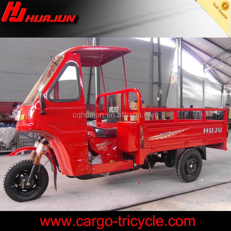 Esquadro 200cc motocicleta de três rodas com volante / três rodas de passageiros motorcyc / de três rodas coberto motocicleta para venda