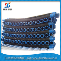 Steel wire heat resistance silicone rubber hose,rubber air hose , hydraulic rubber hoseDN50