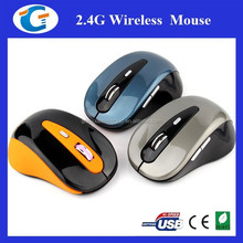 Computer Mouse 2.4ghz USB Wireless Optical Mouse Driver With 6D Key