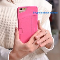2015 New Popular Mobile Phone Case For Iphone 6 Wallet Case