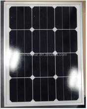 Custom size solar panel use SUNPOWER 125x125 solar cell
