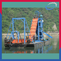 New designed! price of gold dredge machine dredger ship boat