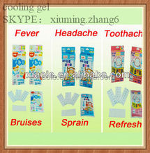 chinese medicinal herbal plaster for fever and pain relief