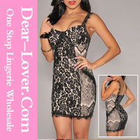 wholesale cheap Nude Illusion Bodycon Dress wholesale clothing new york