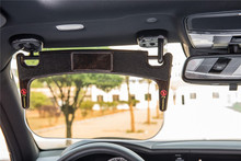 L+F car sun visor car anti-glare glass mirror sunshade