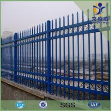 Garden security black powder coating ornamental wrought iron fence