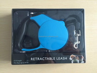 blue dog retractable leashes with 3m rope to control the dog