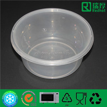 750ml Fresh Fruit Salad container /Reusable plastic bowl