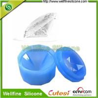 DIY Single diamond shape plainum Silicone Ice mold/ Silicone Ice tray