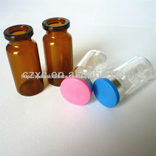 vial de vidrio de botellas/Compañía farmacéutica dedicada botellas vacías/botella de cristal vacía con antibióticos