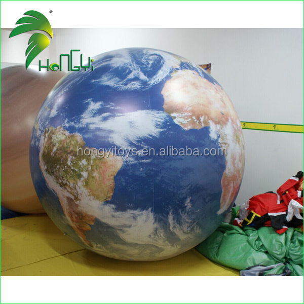 New Customized Planets Inflatable Balloon Helium Ballon For Germany