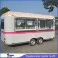 la nueva condición syle casa carro móvil de alimentos del remolque para la venta