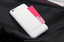 2015 new product PU leather phone case with card slot for iphone 6 case, for iphone 6s case