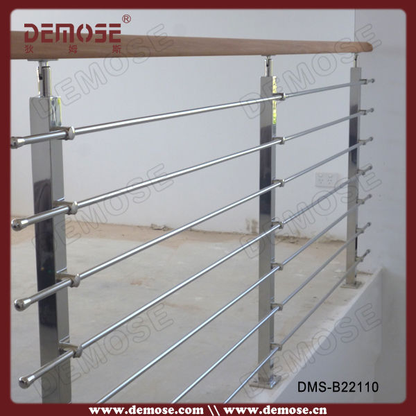 Modern balcony stainless steel window grill design buy for Modern zen window grills design