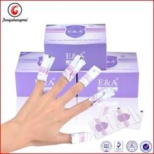 Soak off uv gel wipe remover wraps for nails salon manicure accessory