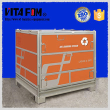 1000L Stackable Metal Storage IBC Tank Foldable Container With PE Bag Inside
