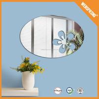 08-0708 Popular removable barthroom sticker high quality home decor mirror decal