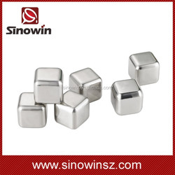 Best selling products stainless steel ice cube for wine