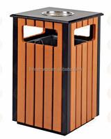 2015 Hot selling wpc outdoor dustbin/ waste bin AVID brand Factory