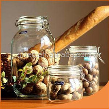 Best Selling High quality glass jar with wooden top from gold supplier made in China
